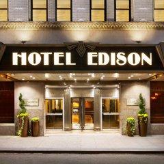 Отель Edison США, Нью-Йорк - 8 отзывов об отеле, цены и фото номеров - забронировать отель Edison онлайн вид на фасад фото 2
