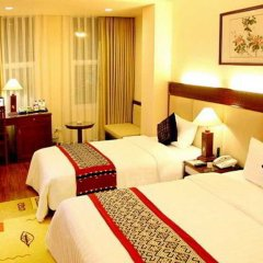 Отель Hanoi Elegance Happy Hotel Вьетнам, Ханой - 1 отзыв об отеле, цены и фото номеров - забронировать отель Hanoi Elegance Happy Hotel онлайн комната для гостей фото 5