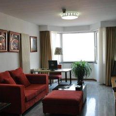 Отель Beijing Sentury Apartment Hotel Китай, Пекин - отзывы, цены и фото номеров - забронировать отель Beijing Sentury Apartment Hotel онлайн комната для гостей фото 3