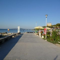 Отель Olimpia Supersnab Hotel Болгария, Балчик - отзывы, цены и фото номеров - забронировать отель Olimpia Supersnab Hotel онлайн пляж фото 2