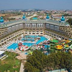Crystal Sunset Luxury Resort & Spa Турция, Сиде - 1 отзыв об отеле, цены и фото номеров - забронировать отель Crystal Sunset Luxury Resort & Spa - All Inclusive онлайн пляж