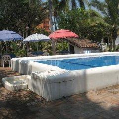 Отель Bungalos Sol Dorado Мексика, Коакоюл - отзывы, цены и фото номеров - забронировать отель Bungalos Sol Dorado онлайн бассейн фото 2