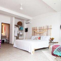 Отель Dewl Studios & Residences - The Kahlo Мексика, Плая-дель-Кармен - отзывы, цены и фото номеров - забронировать отель Dewl Studios & Residences - The Kahlo онлайн комната для гостей фото 4