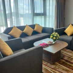 Muong Thanh Luxury Vien Trieu Hotel Нячанг комната для гостей фото 3