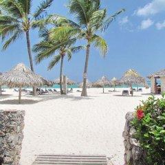 Отель Los Corales Villas & Aparts Ocean View Доминикана, Пунта Кана - отзывы, цены и фото номеров - забронировать отель Los Corales Villas & Aparts Ocean View онлайн пляж фото 2