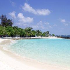 Отель Newtown Inn Мальдивы, Северный атолл Мале - отзывы, цены и фото номеров - забронировать отель Newtown Inn онлайн пляж фото 2