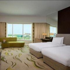 Отель Hilton Capital Grand Abu Dhabi 5* Представительский номер с различными типами кроватей фото 4