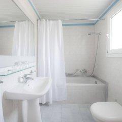 Отель Eurovillage Achilleas Hotel Греция, Мастичари - отзывы, цены и фото номеров - забронировать отель Eurovillage Achilleas Hotel онлайн ванная