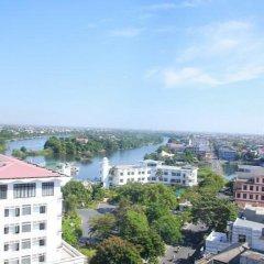 Отель Jasmine Hotel Hue Вьетнам, Хюэ - 1 отзыв об отеле, цены и фото номеров - забронировать отель Jasmine Hotel Hue онлайн балкон