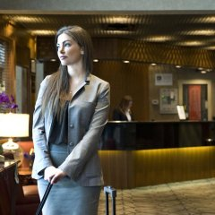 Отель Best Western Plus Chateau Granville Hotel & Suites Канада, Ванкувер - отзывы, цены и фото номеров - забронировать отель Best Western Plus Chateau Granville Hotel & Suites онлайн интерьер отеля