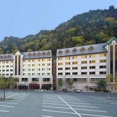 Отель Choyo Resort Камикава парковка