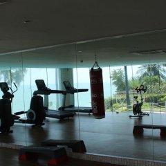 Отель The Palm Wongamat Beach Pattaya Паттайя фитнесс-зал фото 3