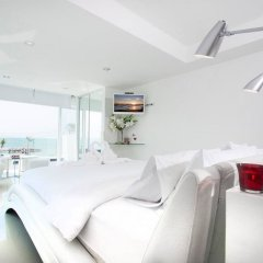Отель Villa 7th Heaven Beach Front На Чом Тхиан комната для гостей фото 5