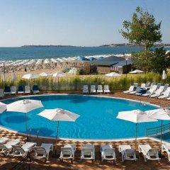 Отель Blue Pearl Hotel- Ultra All Inclusive Болгария, Солнечный берег - отзывы, цены и фото номеров - забронировать отель Blue Pearl Hotel- Ultra All Inclusive онлайн бассейн фото 2