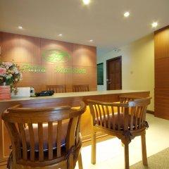 Отель Patra Mansion питание