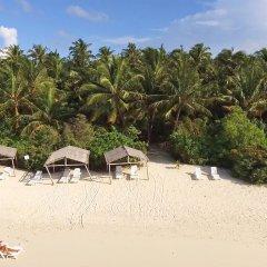 Отель Plumeria Maldives пляж