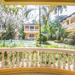 Отель GuestHouser 4 BHK Villa 6dcf Гоа балкон