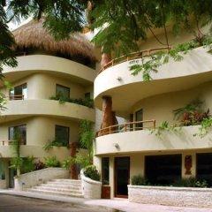 Maya Villa Condo Hotel And Beach Club Плая-дель-Кармен вид на фасад