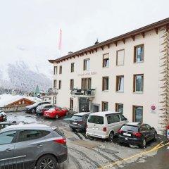 Отель Unique Hotel Eden Superior Швейцария, Санкт-Мориц - отзывы, цены и фото номеров - забронировать отель Unique Hotel Eden Superior онлайн парковка