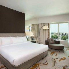 Отель Hilton Capital Grand Abu Dhabi ОАЭ, Абу-Даби - отзывы, цены и фото номеров - забронировать отель Hilton Capital Grand Abu Dhabi онлайн комната для гостей фото 2