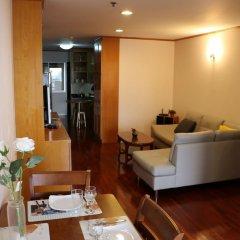 Апартаменты down town apartment near bts station Бангкок питание