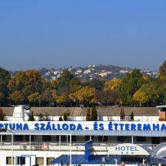 Отель Fortuna Boat Hotel and Restaurant Венгрия, Будапешт - 3 отзыва об отеле, цены и фото номеров - забронировать отель Fortuna Boat Hotel and Restaurant онлайн балкон