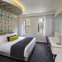 Отель Dream New York 4* Стандартный номер с двуспальной кроватью фото 9