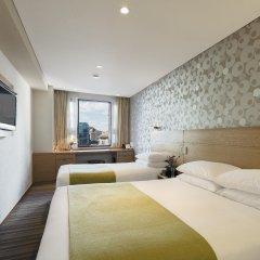 Отель Nine Tree Hotel Myeong-dong Южная Корея, Сеул - отзывы, цены и фото номеров - забронировать отель Nine Tree Hotel Myeong-dong онлайн комната для гостей фото 3
