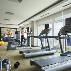 Отель Somerset Hoa Binh Hanoi фитнесс-зал