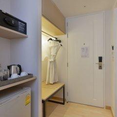 Отель Le D'Tel Bangkok Бангкок сейф в номере