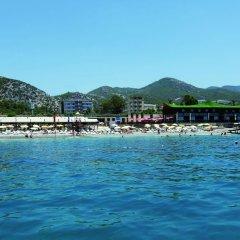 Отель Beach Club Doganay - All Inclusive пляж фото 2