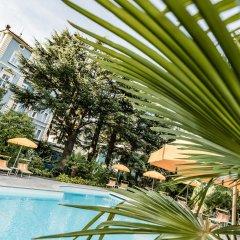 Hotel Palma Меран бассейн