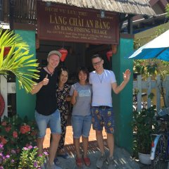 Отель Fishing Village An Bang Homestay Hoi An фото 3