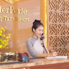 Отель MerPerle Hon Tam Resort Вьетнам, Нячанг - 2 отзыва об отеле, цены и фото номеров - забронировать отель MerPerle Hon Tam Resort онлайн интерьер отеля фото 2