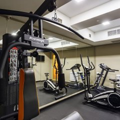 Отель Амбассадор фитнесс-зал фото 3