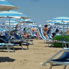 Отель Oletta Италия, Римини - отзывы, цены и фото номеров - забронировать отель Oletta онлайн пляж