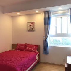 Отель Diamond Sea Apartment Вьетнам, Вунгтау - отзывы, цены и фото номеров - забронировать отель Diamond Sea Apartment онлайн комната для гостей фото 5