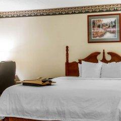 Отель Clarion Inn Chattanooga США, Чаттануга - отзывы, цены и фото номеров - забронировать отель Clarion Inn Chattanooga онлайн комната для гостей фото 5