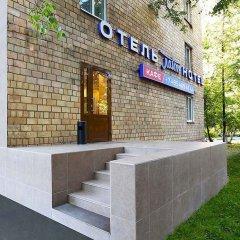 Отель Лайт Нагорная Москва вид на фасад