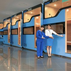 Отель VATC SleepPod Terminal 2 детские мероприятия