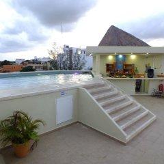 Отель Sahara Мексика, Плая-дель-Кармен - отзывы, цены и фото номеров - забронировать отель Sahara онлайн пляж фото 2