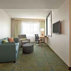 Отель Springhill Suites Minneapolis-St Paul Airpt/Mall Of America Блумингтон комната для гостей фото 3