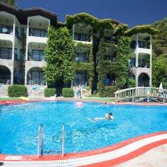 Club Aquarium Турция, Мармарис - отзывы, цены и фото номеров - забронировать отель Club Aquarium онлайн бассейн