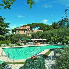 Отель Grand Hotel Villa Fiorio Италия, Гроттаферрата - отзывы, цены и фото номеров - забронировать отель Grand Hotel Villa Fiorio онлайн бассейн