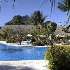 Отель Eden Beach Hotel Bora Bora Французская Полинезия, Бора-Бора - отзывы, цены и фото номеров - забронировать отель Eden Beach Hotel Bora Bora онлайн бассейн фото 3
