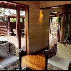 Отель Villa Te Ata - Moorea балкон
