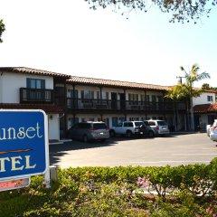 Отель Sunset Motel парковка