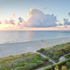 Отель Marriott Stanton South Beach пляж фото 2