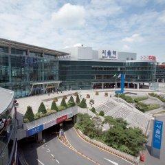 Отель K-POP GUESTHOUSE Seoul Station балкон