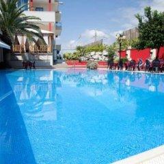 Отель Grand Hotel La Tonnara Италия, Амантея - отзывы, цены и фото номеров - забронировать отель Grand Hotel La Tonnara онлайн бассейн фото 2